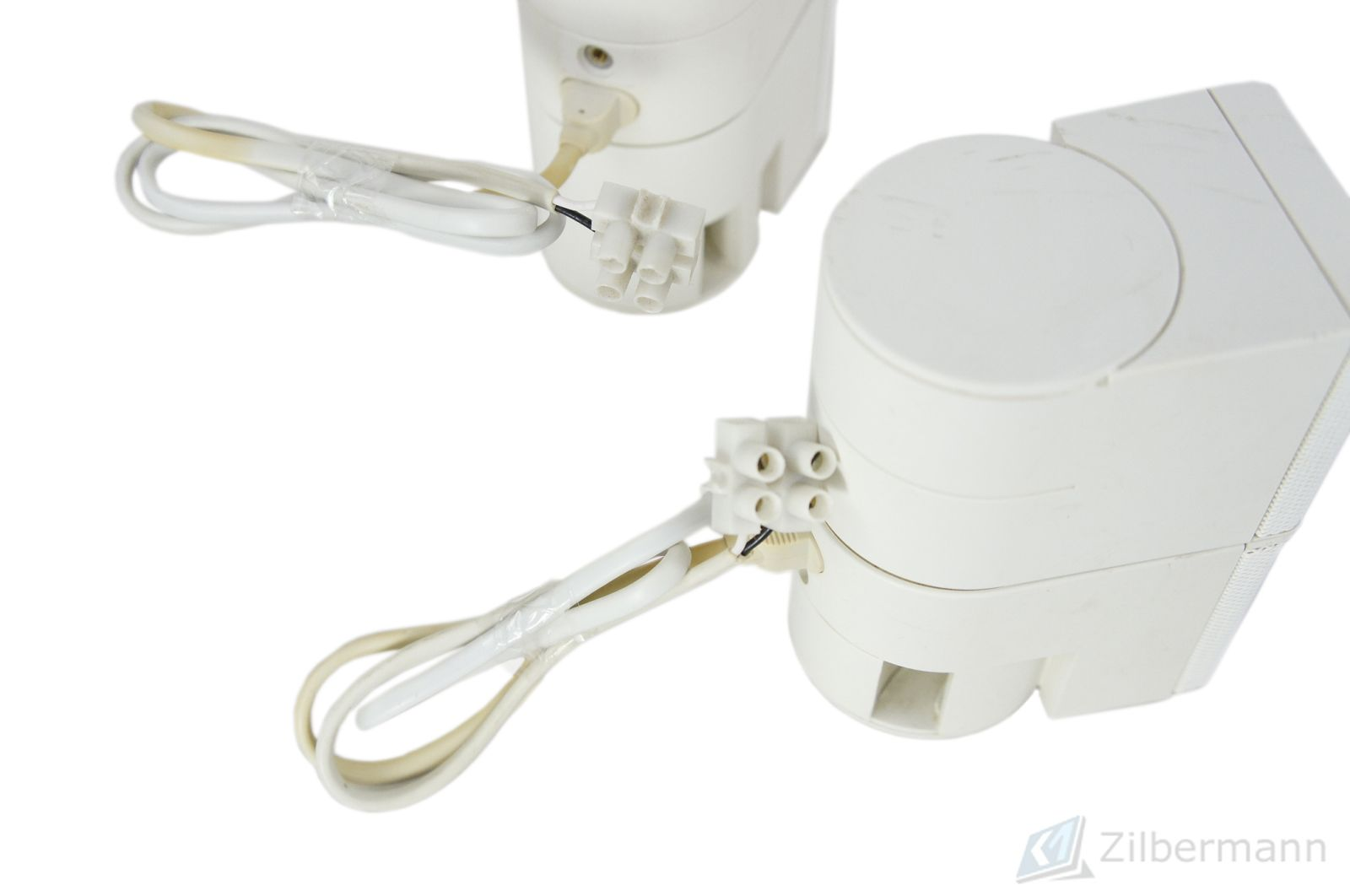 2x_Bose_Jewel_Cubes_Boxen_Satelliten_mit_Adapter_Weiss